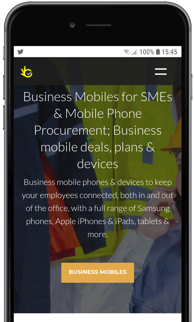 Outsourced Business Mobile Phone Procurement
